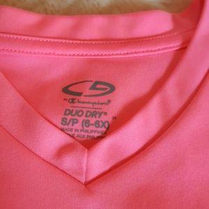 Champion Shirts & Tops - 🔴BOGO🔴 GIRLS FLORESCENT PINK SPORTS TOP
